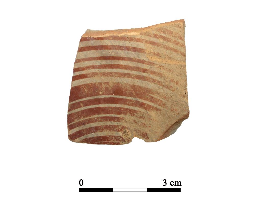 Recipiente cerámico 30-1-4. Cueva de la Lobera